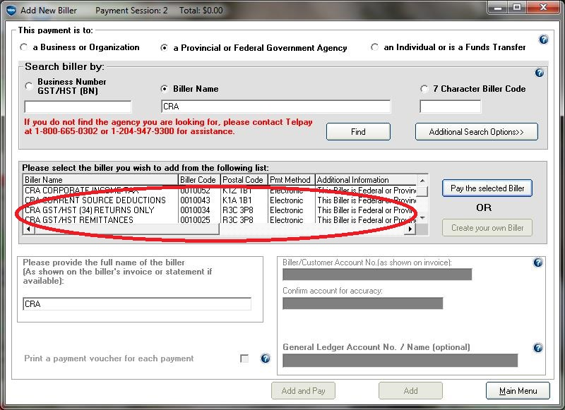 how to close hst account