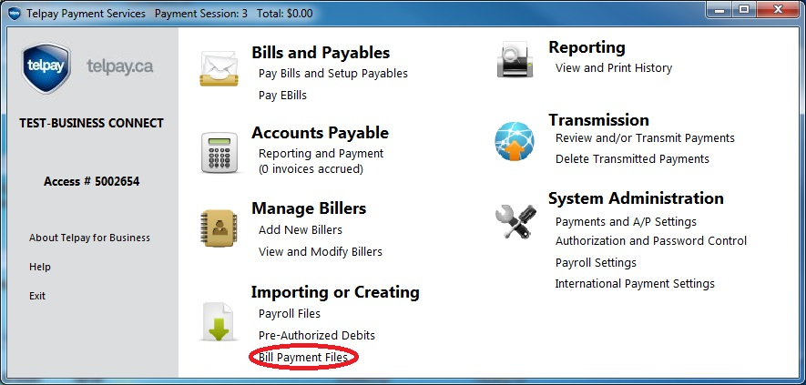 Step 3: Import Compatible QuickBooks Online Payables File