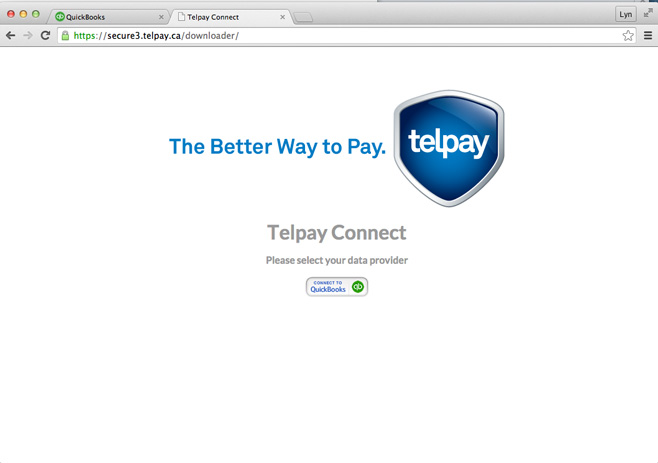 Step 2: Export QuickBooks Online Payables File with Telpay